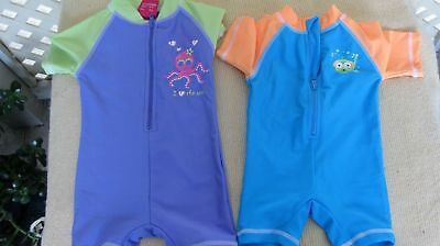 Two Babies One Piece Swim Rash Suit Swimwear/Bathers a must for the little ones.