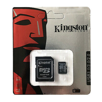 16GB  Micro SD Card with SD Adapter, Kingston Technology Class 10 B UK STOCK