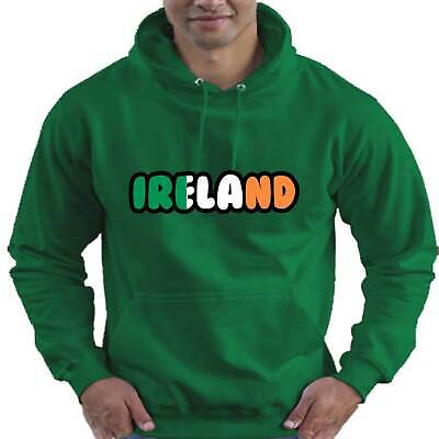 Ireland Rugby Flag Love Childrens Childs Kids Boys Girls Hoodie Hooded Top