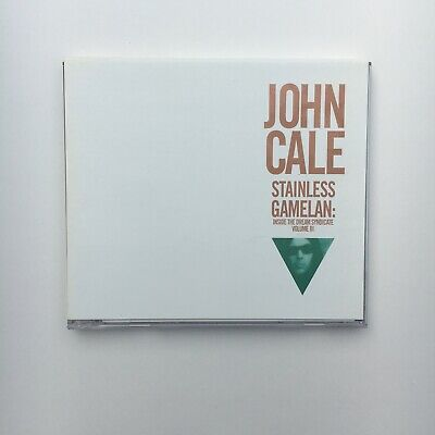 John Cale ~ Stainless Gamelan ~ Rare Cd  Minimalism ~ Inside Dream Syndicate Iii