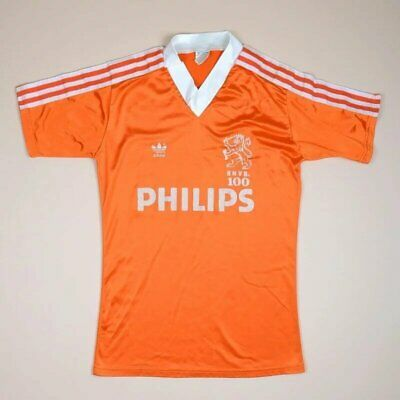 Holland 1988/1989/1990 Home Football Shirt Jersey Adidas Vintage Size S Adult