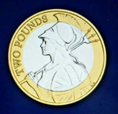 2015 Britannia BU £2 Two Pound Coin RARE Uncirculated