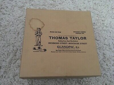 Set Of 4 Thomas Taylor Lignoid Lawn Bowls Size 3