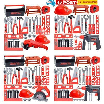 995a512ac 32Pcs Child Toolbox Kit Simulation Repair Tool Drill Screwdriver House Play  Toys