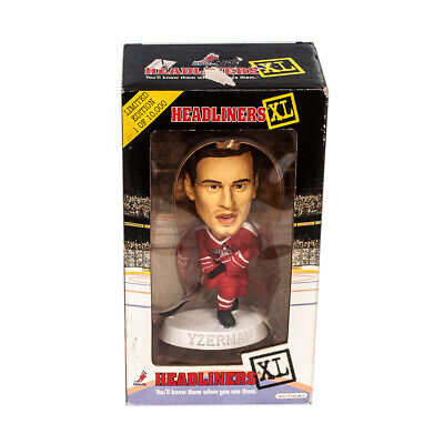 Steve Yzerman Headliners XL NHL Detroit Red Wings Figure Limited Edition 1998