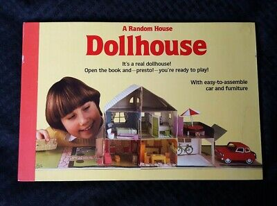 A Random House Dollhouse pop-up Book/1981 Harry Saffren/No Assemble Accessories