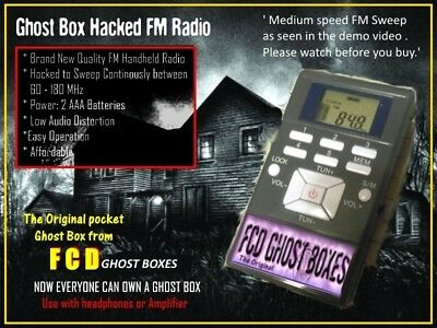 Genuine ITC Ghost Box FM Radio Sweep Spirit hacked Radio FCD Sale  the Original