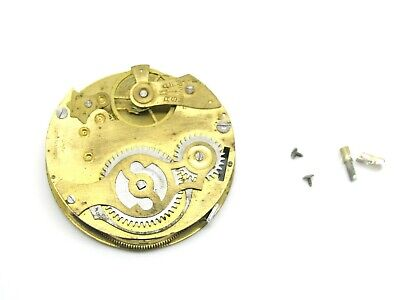 Spares or Repairs, Antique Swiss Pocket Watch Movement, Not Working