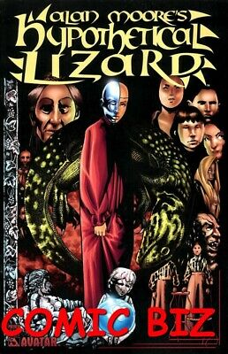 Alan Moores Hypothetical Lizard Preview (2004) Bagged & Boarded Avatar Comics