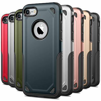 Shockproof Heavy Duty Bumper Hard Case Cover For Apple iPhone 11 Pro Max XR 7 8+