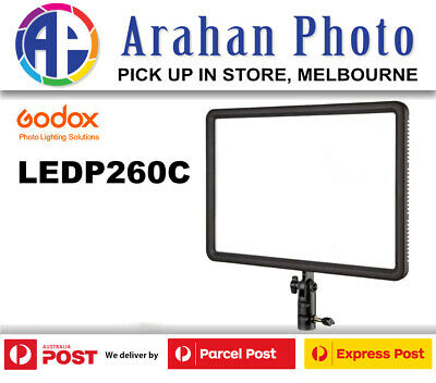Godox LED Video Light P260-C Color Changeable Lighting-AU stock/ 1yr warranty