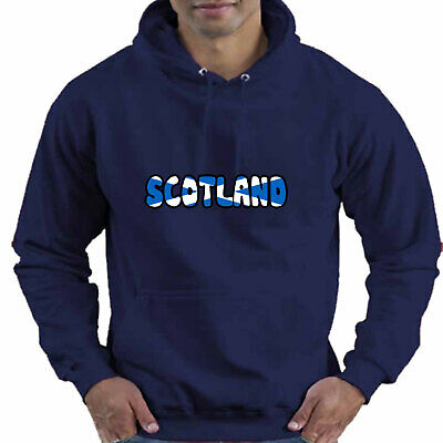 Scotland Scottish Flag Childrens Childs Kids Boys Girls Hoodie Hooded Top