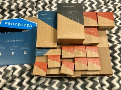 SimpliSafe Wireless Home Security System SS3 16 Piece