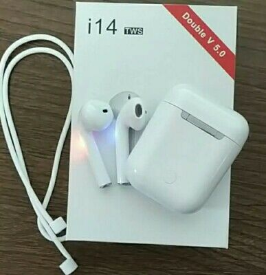 Auriculares bluetooth i14 TWS inalambricos Wireless airpods 5.0 3D Super Bass