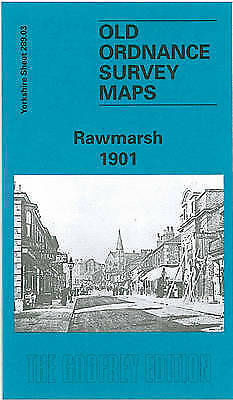 OLD ORDNANCE SURVEY MAP Rawmarsh 1901, YORKSHIRE SHEET 289.03