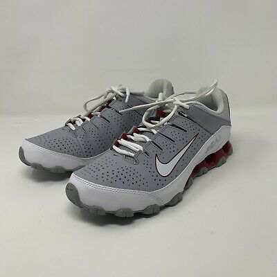 the best attitude 6712a 90941 Nike Reax 8 TR Mens Training Shoes 616272 012 Wolf Grey White Gym Red