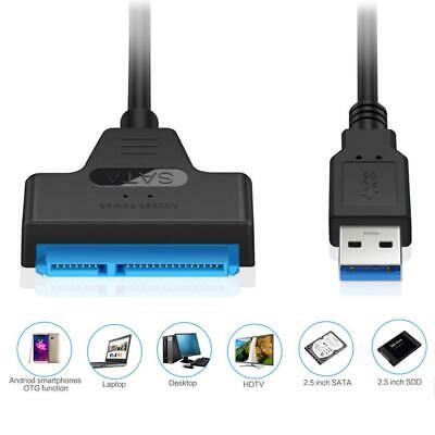 USB 3.0 to SATA7+15pin Hard Disk Cable Converter 2.5 Inches SSD HDD Hard Disk