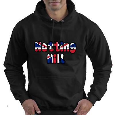 Notting Hill London Love Childrens Childs Kids Boys Girls Hoodie Hooded Top