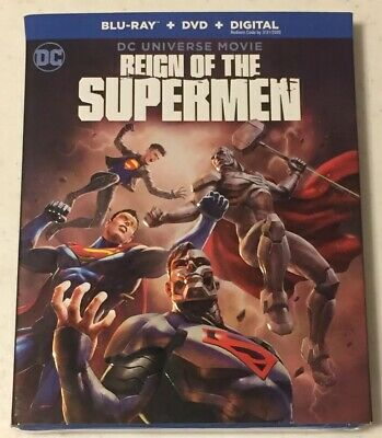 Reign Of The Supermen (Blu-Ray + DVD + Digital, 2019) -Brand New *Free Shipping*