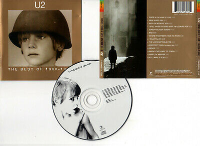 "U2 ""The Best Of 1980-1990"" (CD) 1998"