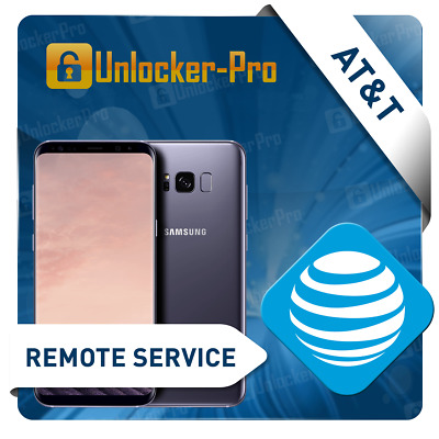 INSTANT Samsung AT&T Remote  Unlock Service S7 Active G891A