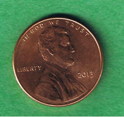 2013 P Lincoln Shield One Cent Penny Coin Circulated AU