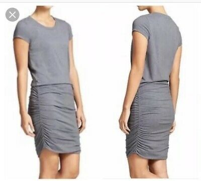 f5114789023 ATHLETA Topanga Tee Shirt Dress  79 Gray Size small S