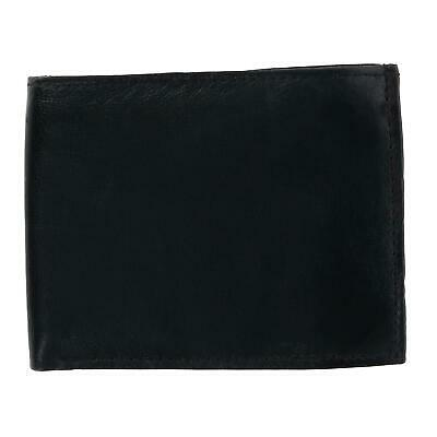 New CTM Men's Leather Bifold Wallet with Snap Insert Cover