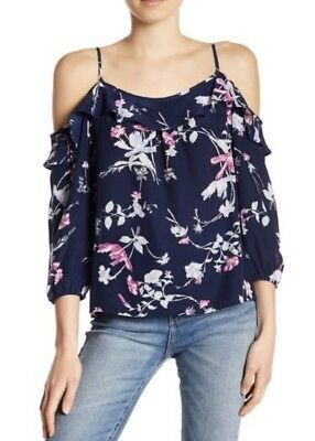 5b96ddb80c386c NEW JOIE ABATHA One-Shoulder Silk Top Size Medium MSRP  248 -  64.99 ...