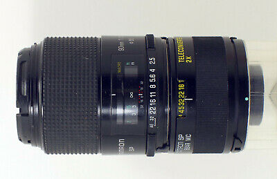 "Tamron SP 90mm 1 : 2,5 52BB + Teleconverter 2X BBAR SP 01F ""Excellent"""