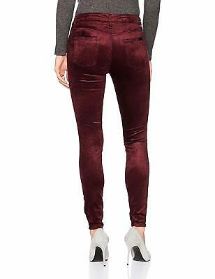 NWT 7 For All Mankind The Ankle Skinny Velvet Women Jeans Scarlett Size 26