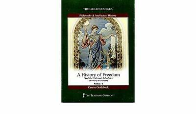 Great Courses: A History of Freedom 6 DVD Set + Course Guidebook New Sealed