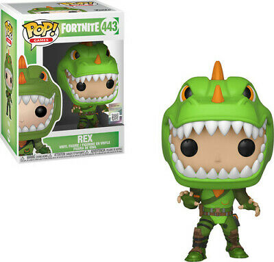 Fortnite S1a - Rex - Funko Pop! Games: (2019, Toy NUEVO)