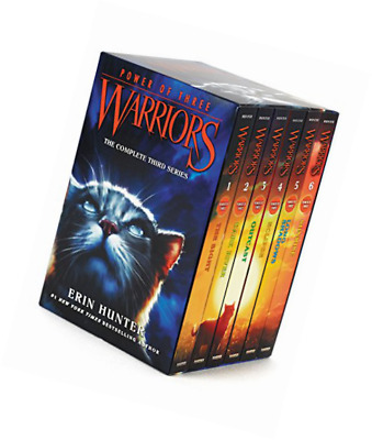 Warrior Cats Series 3: Power of Three - 6 Books Set By Erin Hunter