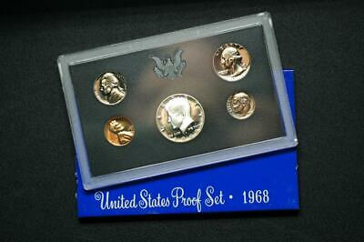 1968-S United States Proof Set Original Mint Package Uncirculated