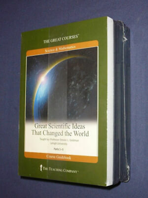 Great Courses: Great Scientific Ideas 6 DVD Set + Course Guidebook New Sealed