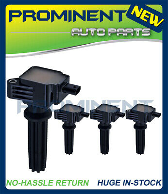 4x Ignition Coils For 2012-2016 Ford Focus / 2013-2016 Lincoln MKZ L4 2.0L UF670