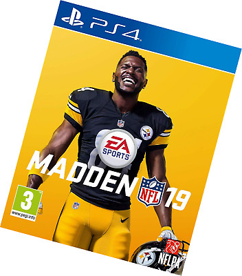 EA Sports Madden NFL 19 American Football Video Game PS4 New and Sealed