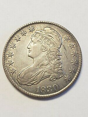 1830 Capped Bust Silver Half Dollar