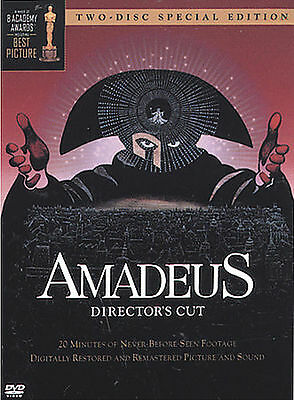 Amadeus - Directors Cut (DVD, 2002, 2-Disc Set, Two-Disc Special Edition)