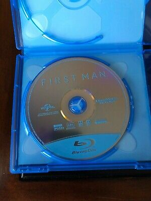 FIRST MAN Blu-Ray disc and case/artwork 2018 NEW - Ryan Gosling - No dvd/No code