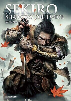SEKIRO: SHADOWS DIE TWICE I Official Complete Guide book (Strategy guide) japan