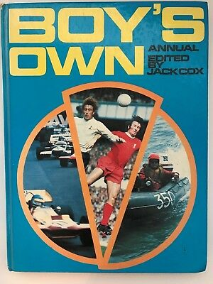 1970s boys own annual edited by jack cox 1972 hardcover book Purnell