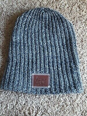c2f8f327f LOVE YOUR MELON LYM White and Green Speckled Beanie New With Tags ...