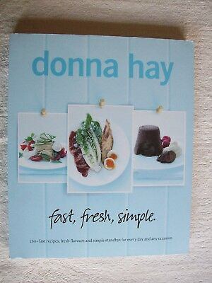 Donna Hay ~ FAST FRESH SIMPLE ~ 2010 Extra Large PB (Like New) Combine & Save