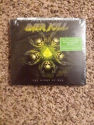 Overkill - The Wings Of War Cd  2019 Release - Metallica / Testament / Over Kill