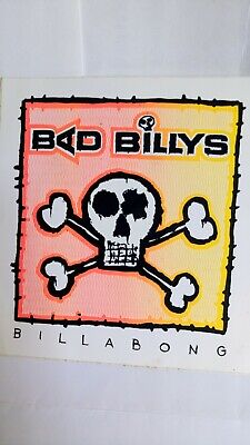 Billabong Bad Billys Surf Sticker