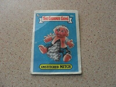 The Garbage Gang - Unstitched Mitch card 40a
