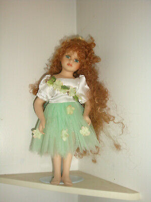 Beautiful Fairy Doll On Stand-
