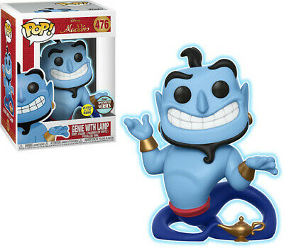 Genie W/ Lamp (Gw) - Funko Specialty Series Pop! Disney: (2019, Toy NUEVO)